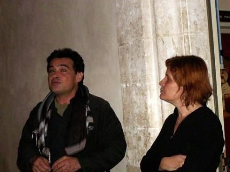 Hubert Ben Kemoun et Nadine Foissac le 20 octobre