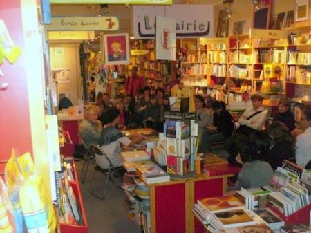 Rencontre avec Hélène Riff le 18 octobre 2007