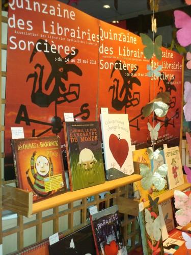 quinzaine des librairies sorcières,un livre,hervé tullet,l'eau vive