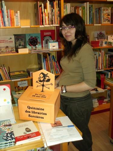 quinzaine des librairies sorcières