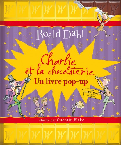 charlie et la chocolaterie pop-up